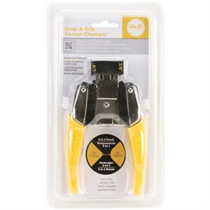 "Picture of *50% OFF* Corner Chomper Corner Rounding Tool, 1/8"" and 3/8"" (Yellow) *SALE* WHILE SUPPLIES LAST"